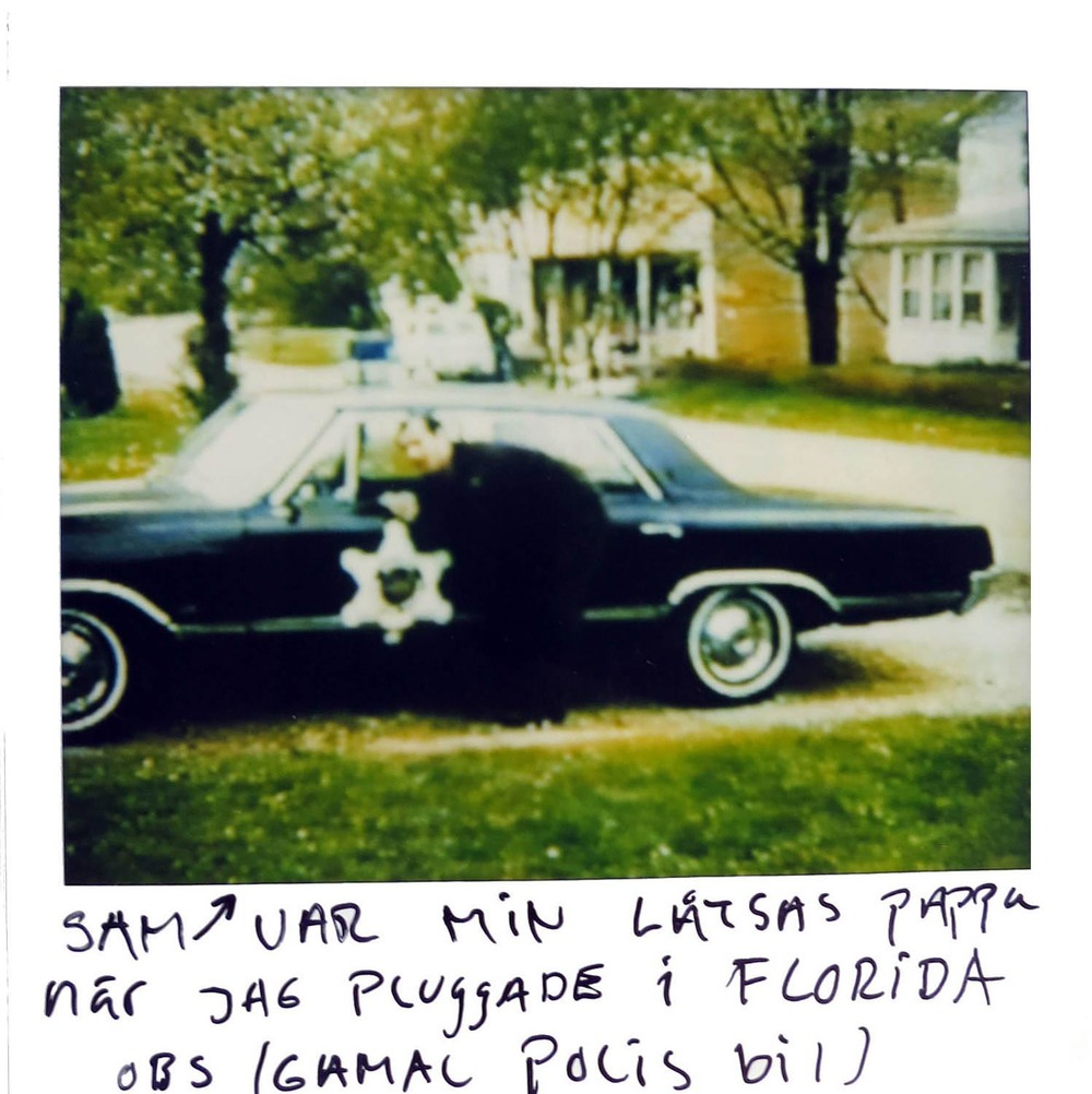 Sam was my step dad when i  studied in Florida  NOTE: This is a fake police car