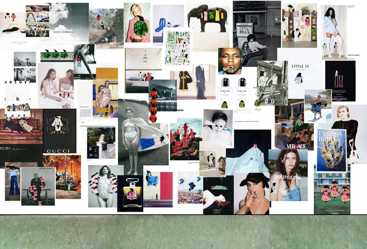 pics from the FASHION MAGAZINES as a  POSTER SHOW