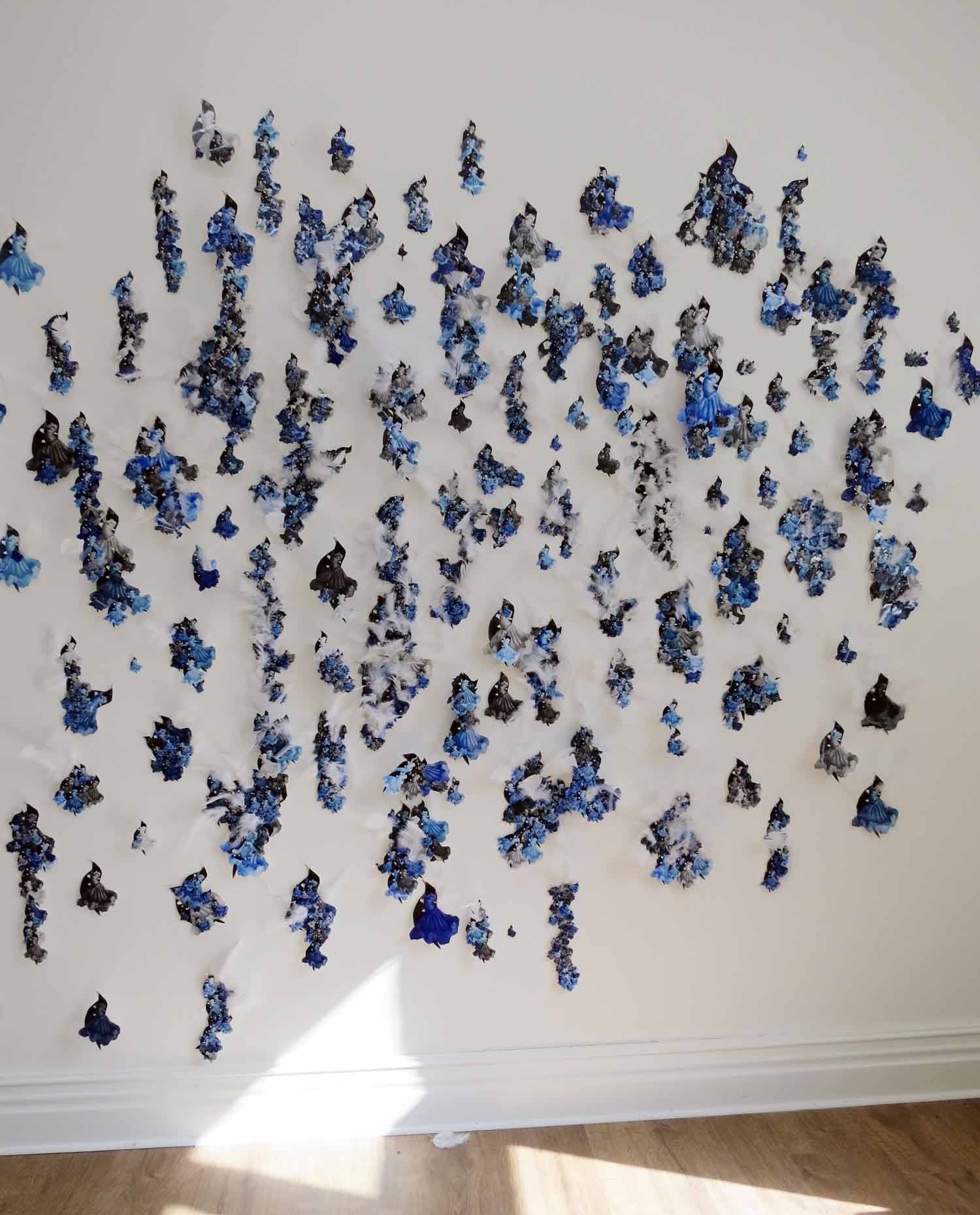 BLUE OCEAN (wall piece)