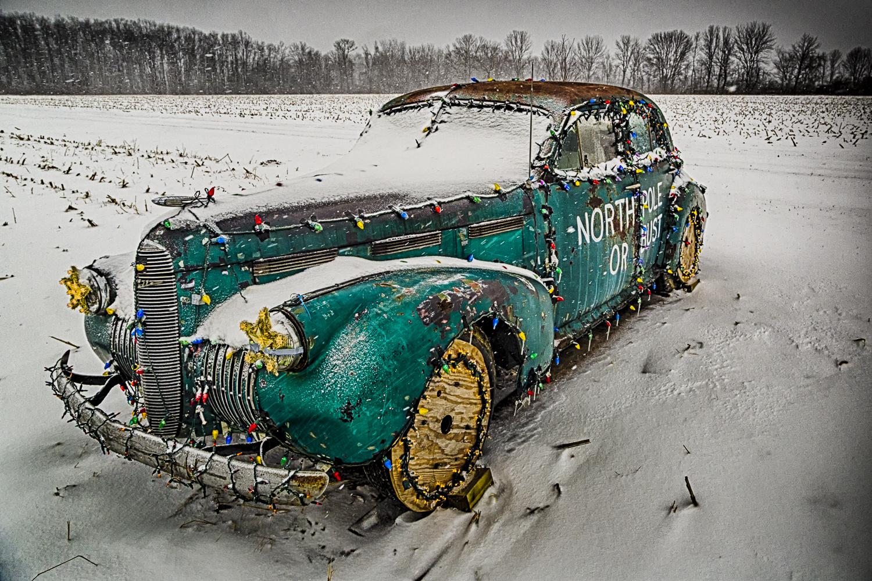 North Pole Car, Study No 1 – Waynesville, Ohio – 2012