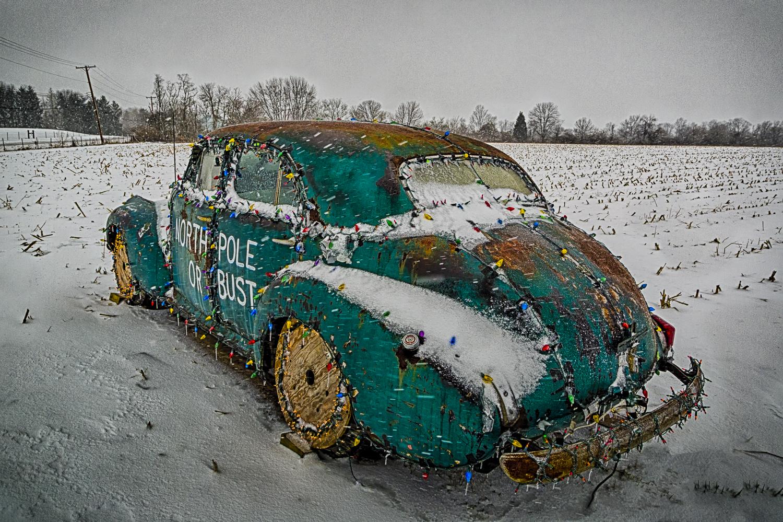 North Pole Car, Study No 2 – Waynesville, Ohio – 2012