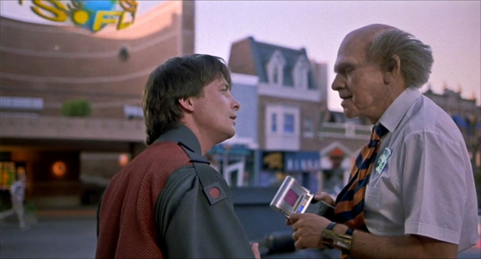 Mobile payments in Back to the Future Part II.