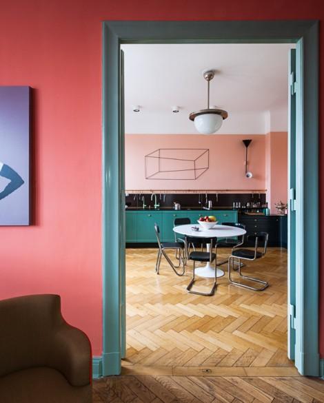 interior by  Gisbert Pöppler  and images by Wolfgang Stahr