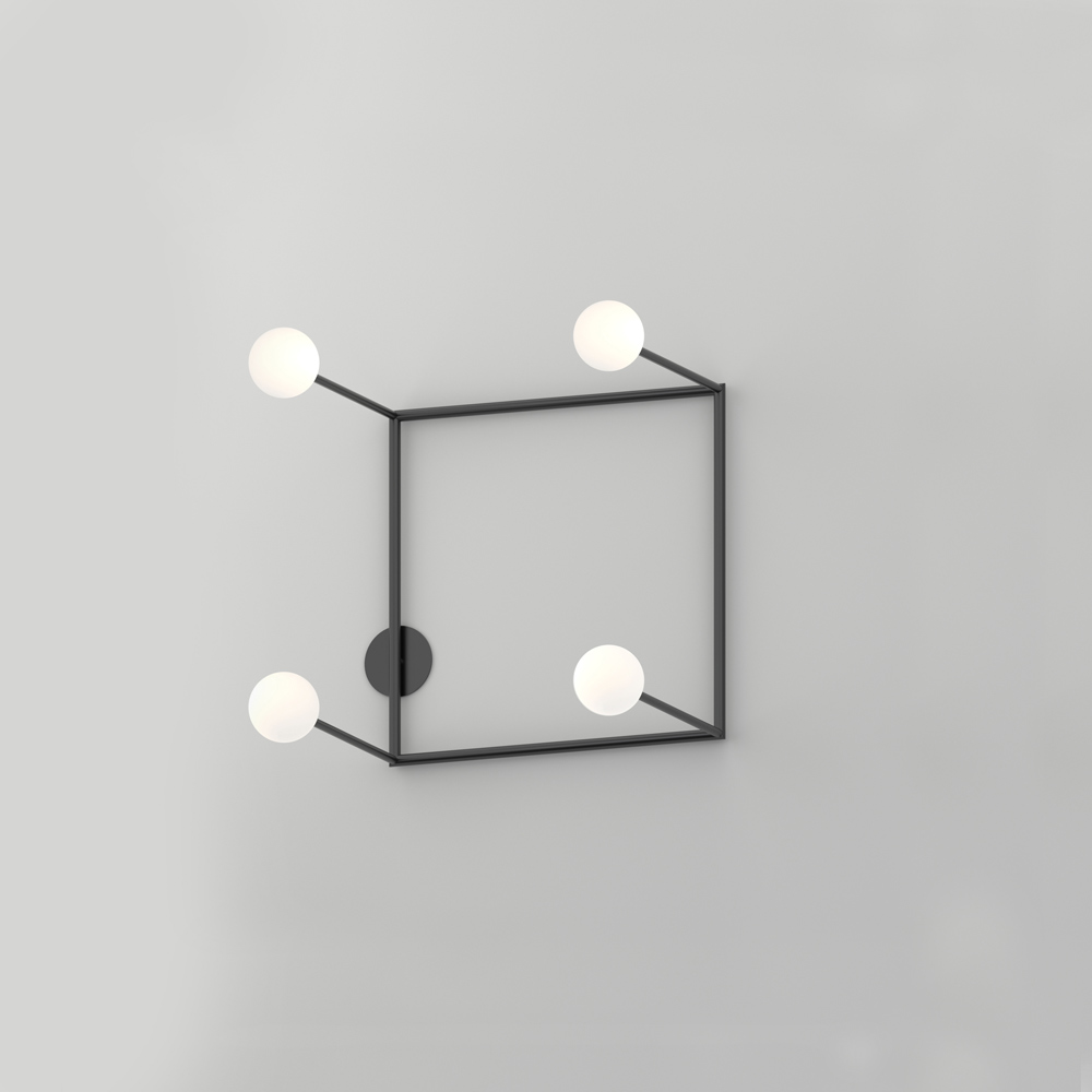 Floating wall light