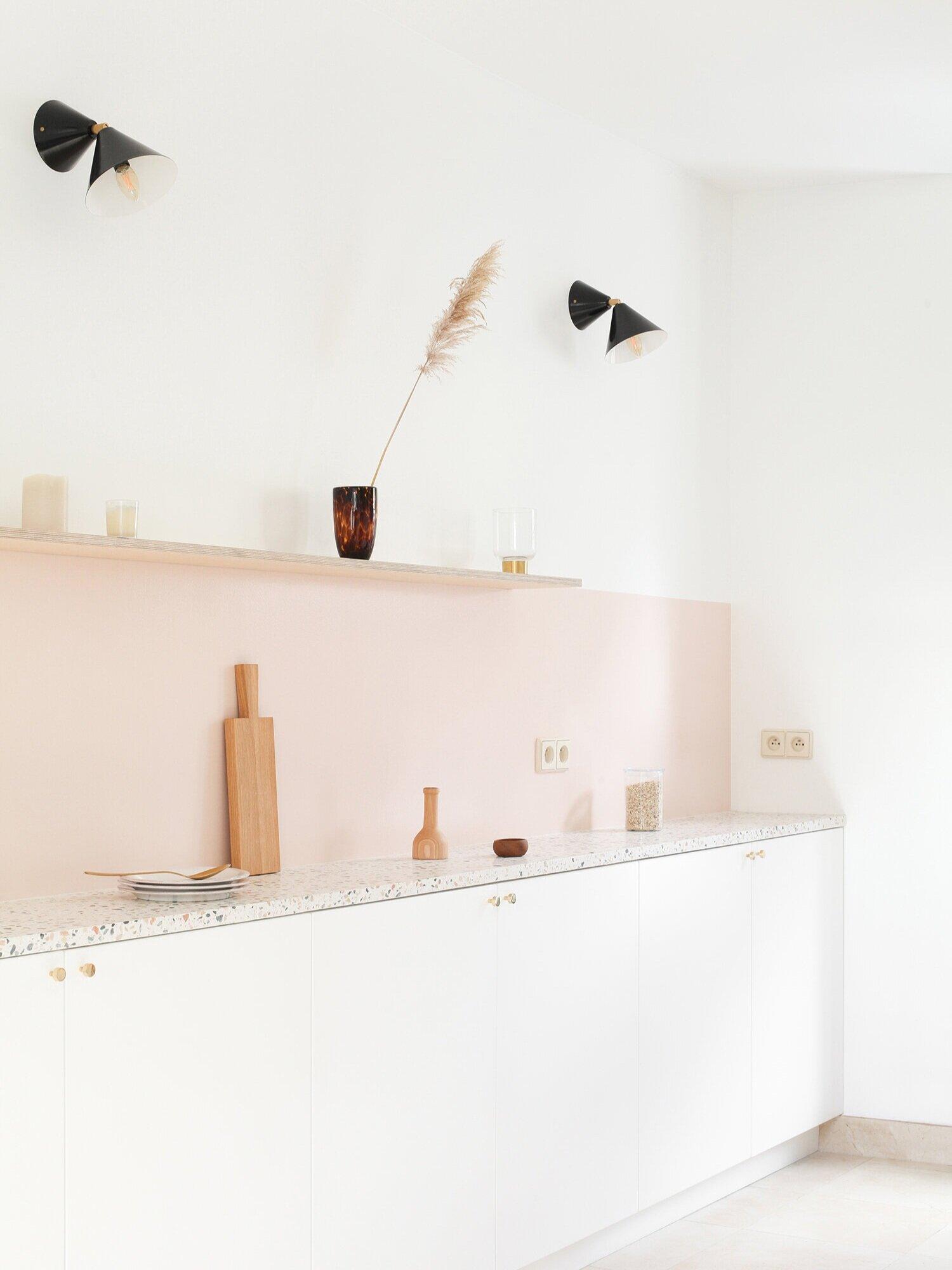 Cone     wall light | 077OL-W01 Archi renovation cuisine terrazzo Heju studio
