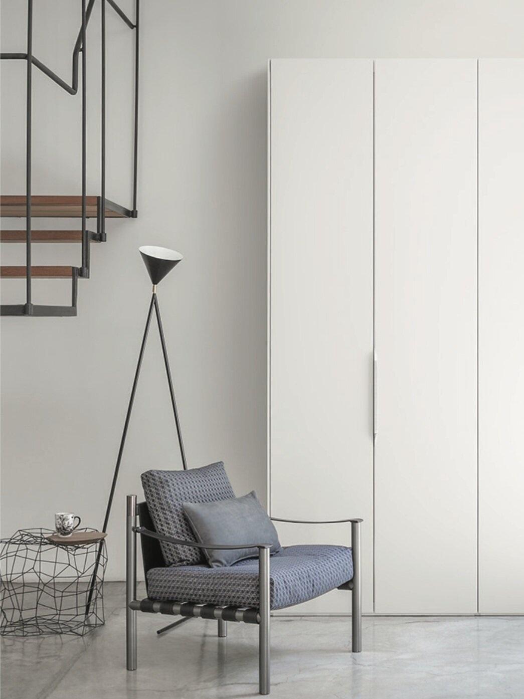 One   floor light | 184OL-F03 Styling Elena Caponi Studio, Photo Beppe Brancato