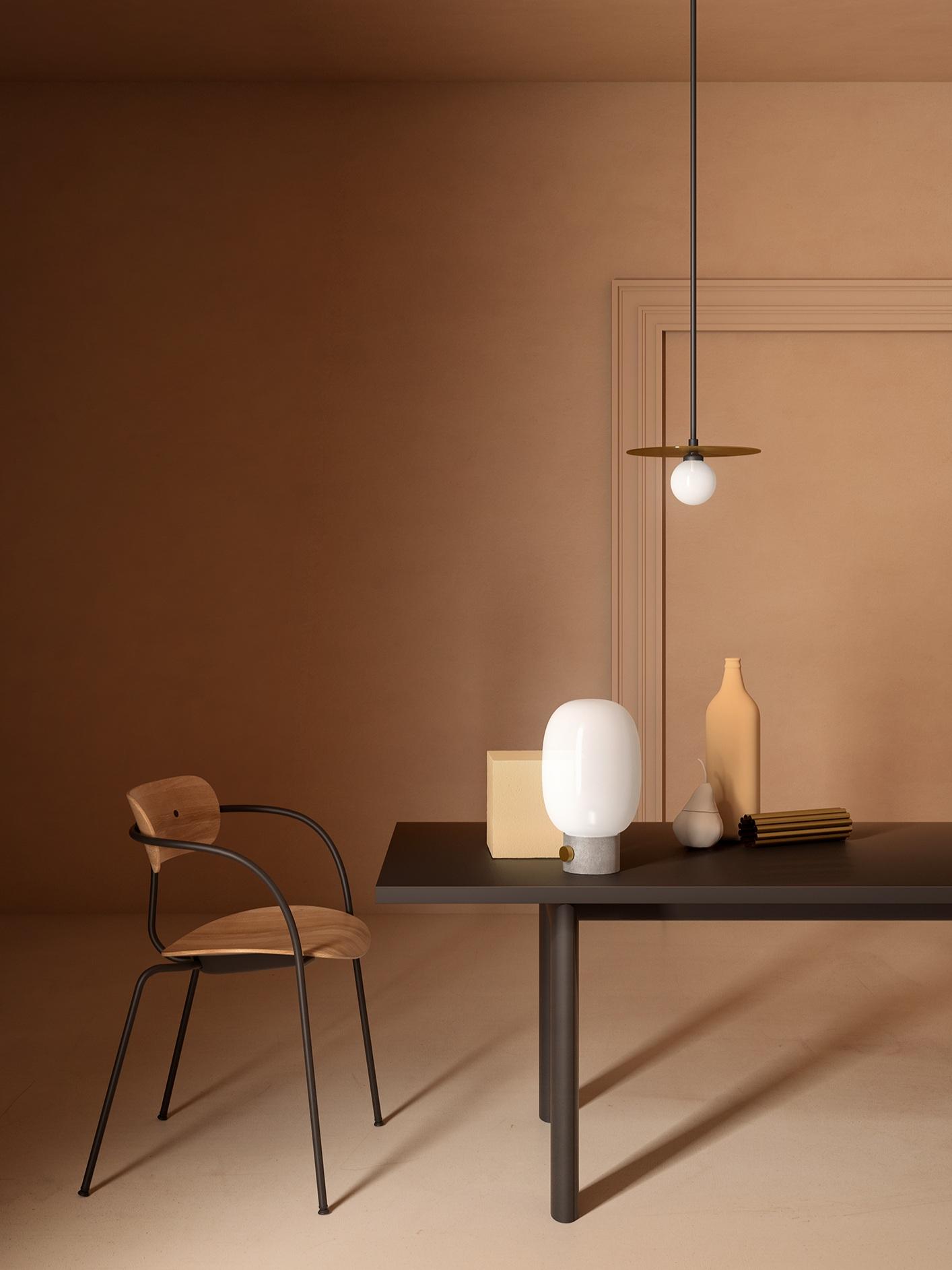 Disc and sphere     pendant light | 140OL-P Insideart Giorgio Morandi
