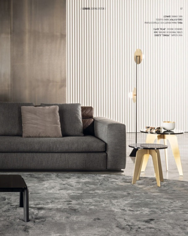 Disc and Sphere   floor light | 140OL-F01 Minotti | Collection 2014