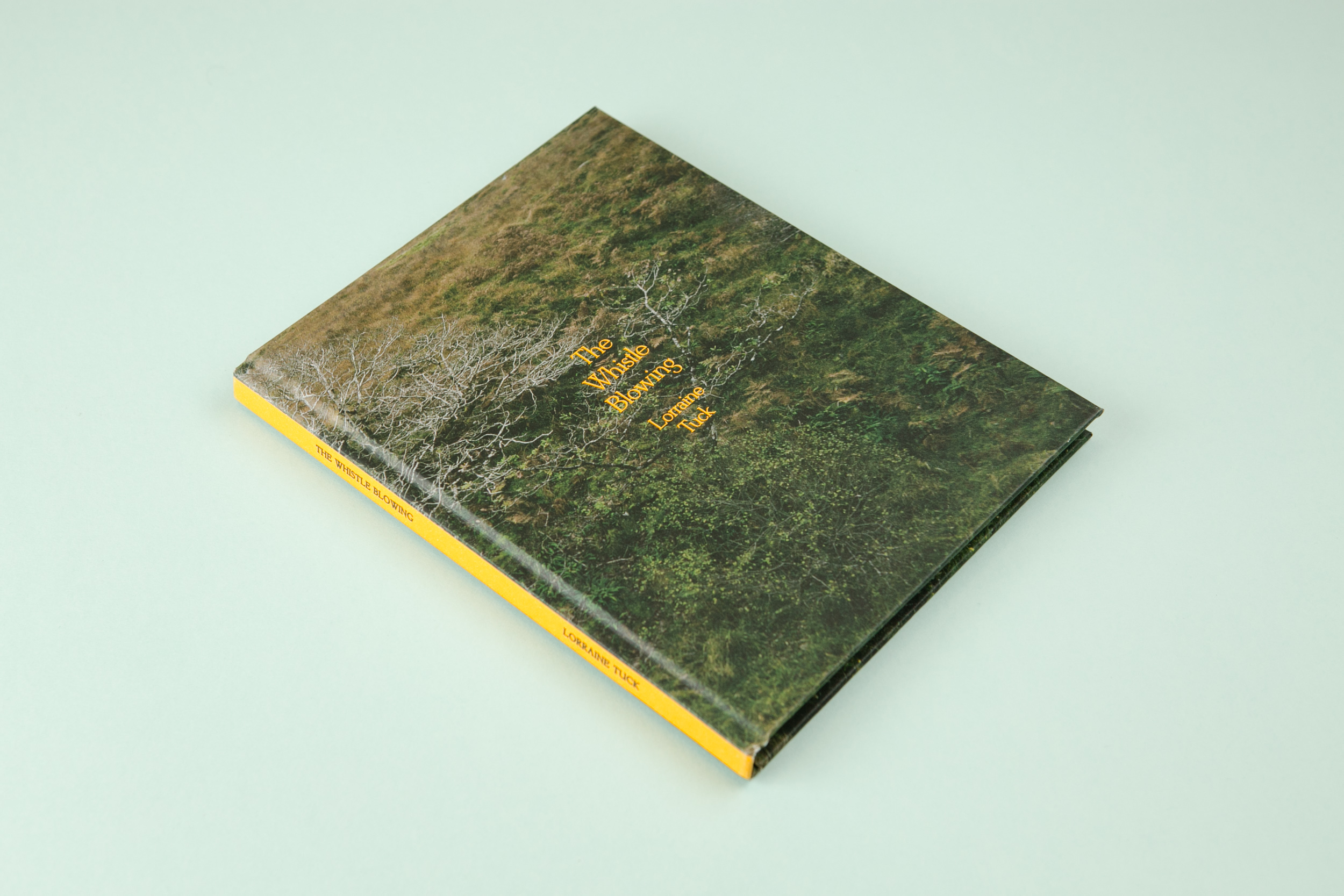 The Whistle Blowing a photobook with photography by Lorraine Tuck and Design by Read That Image Collective
