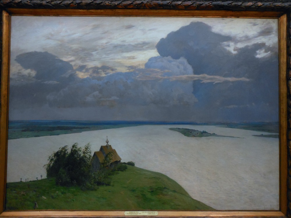 LEVITAN, Above where souls rest