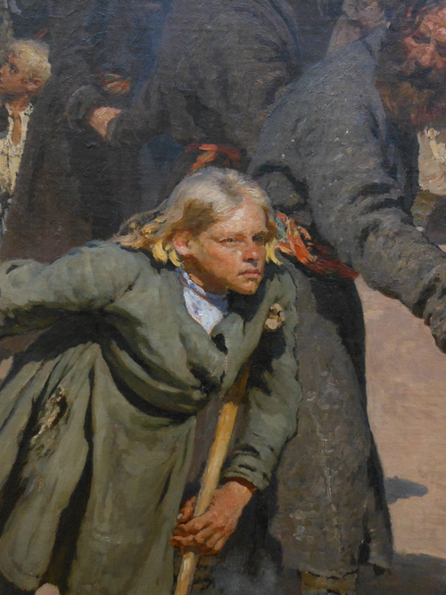 REPIN, procession detail