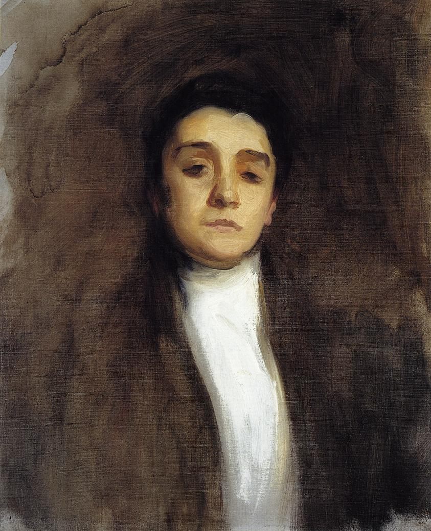 Portrait of Eleonora Duse 1893