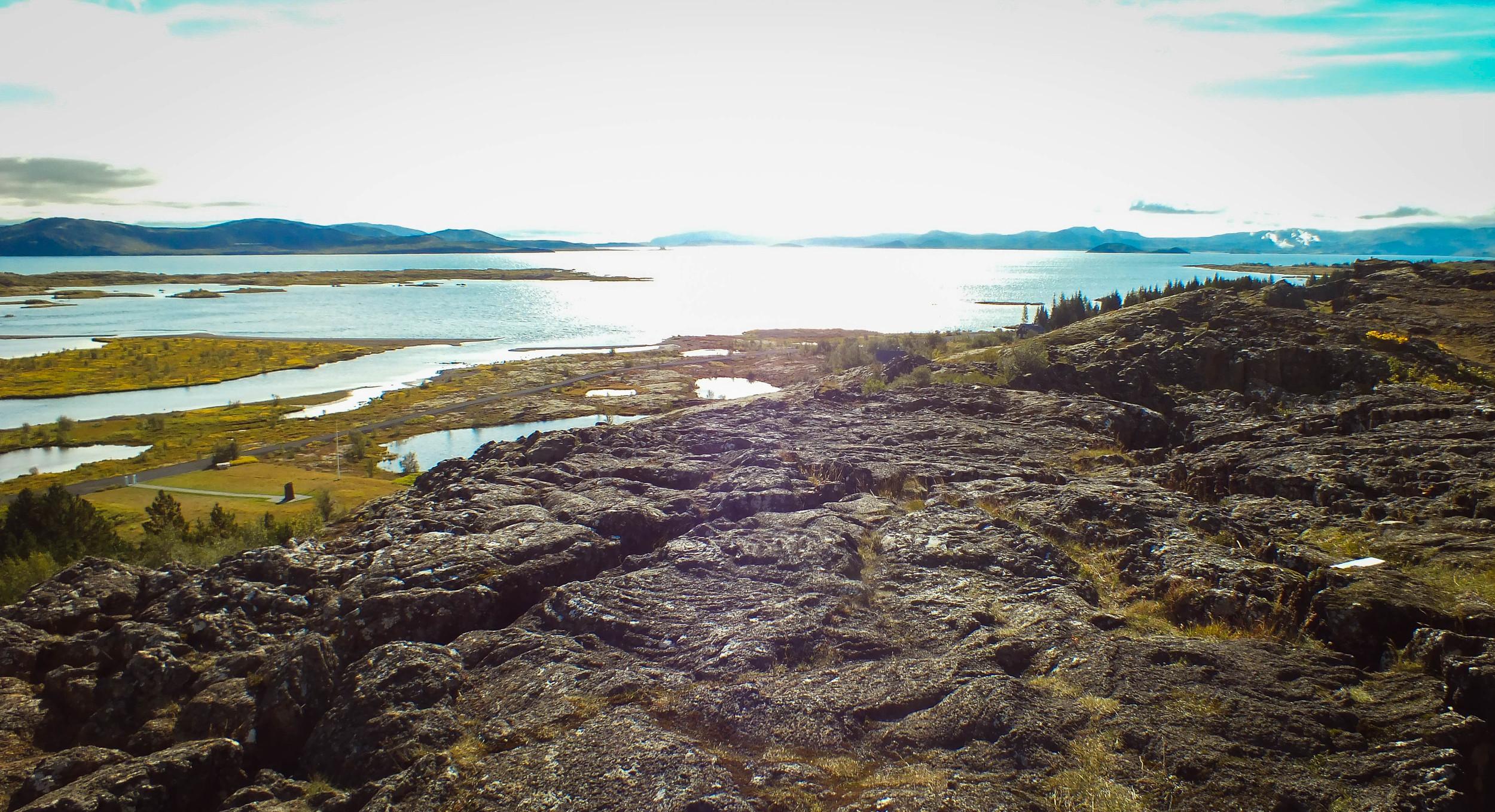 Lake  Þingvallavatn , Iceland