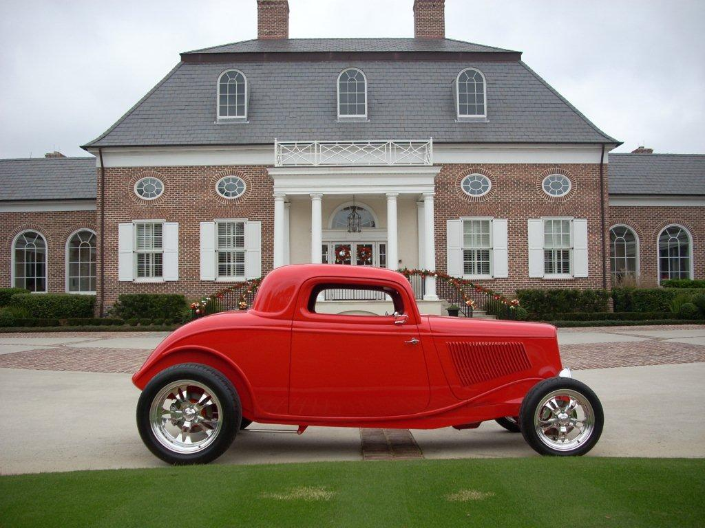 Jim's 1933 Ford Coupe