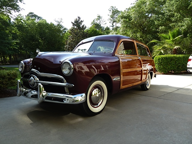 Phil Capossela's '49 Ford Woodie Wagon