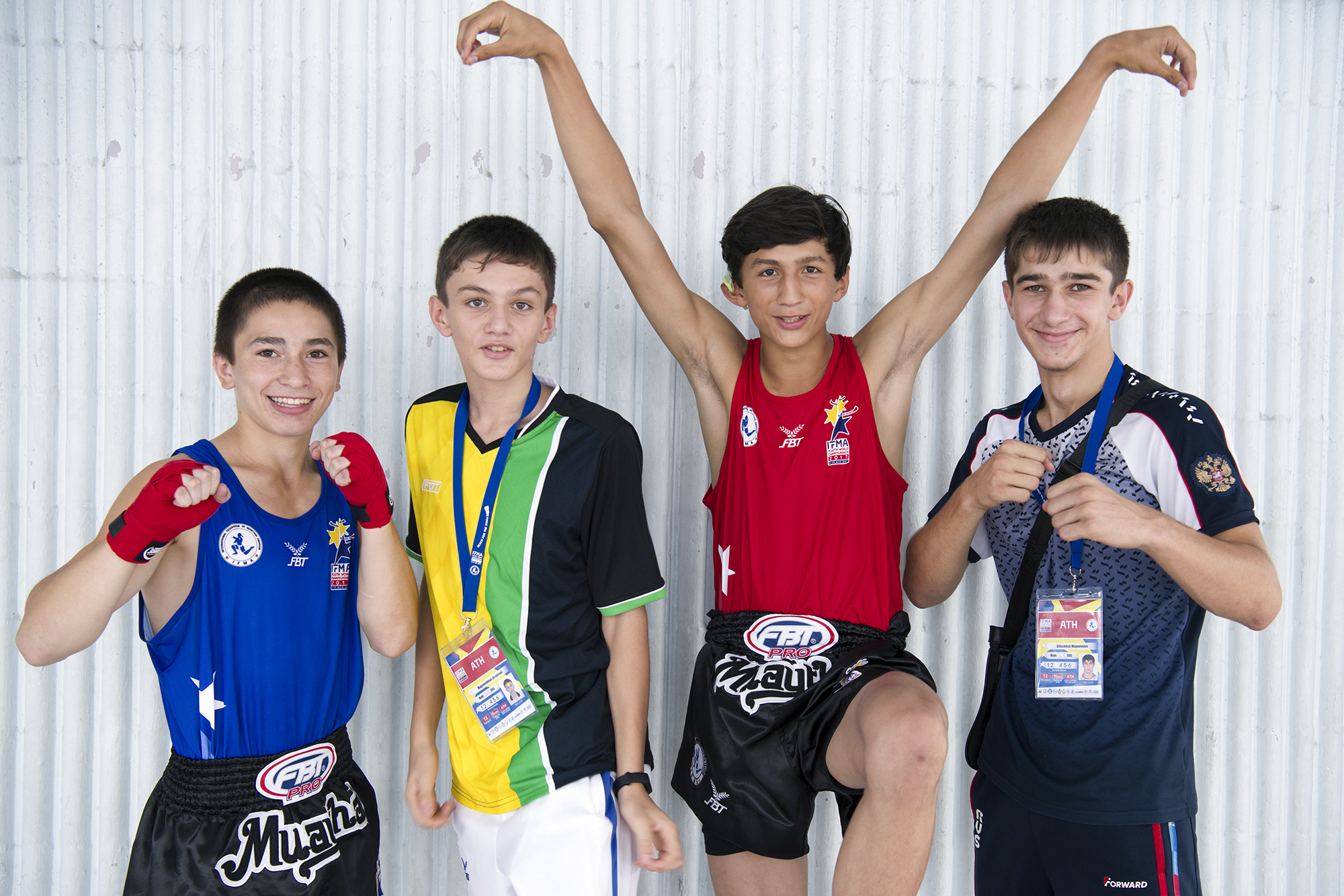 An assignment to photograph for the International Federation of Muay Thai Amateur (IFMA) at the World Youth Championships in Bangkok, Thailand.  The tournament was held from 3 to 11 August 2017. Over fifty countries took part in the competition with hundreds of athletes between the ages of 12 to 17 in attendance.