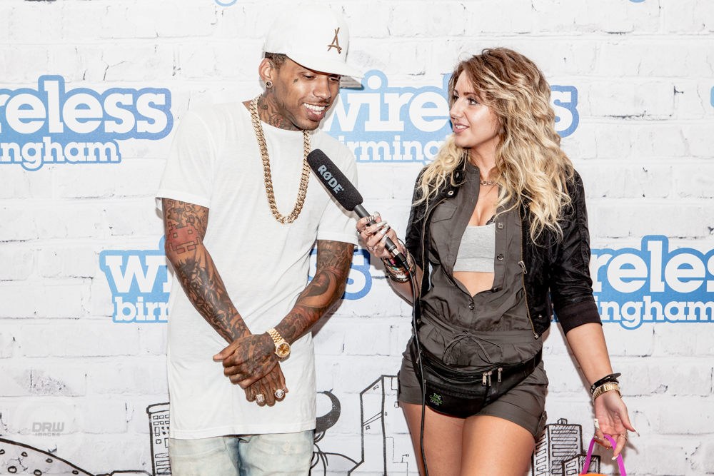 Kid Ink ( Interview with the Garage Door)