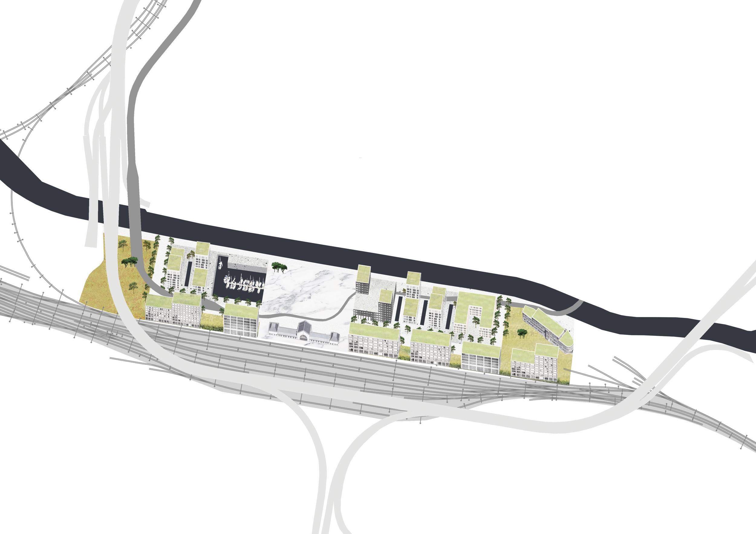 LE PROJET NAUTIQUE   Le projet nautique de la Ville Basse, situé sur la rive droite de la Sambre à proximité de l'esplanade de la gare, donne forme à la réflexion que mène actuellement la Ville de Charleroi sur ses paysages particuliers...   + d'informations