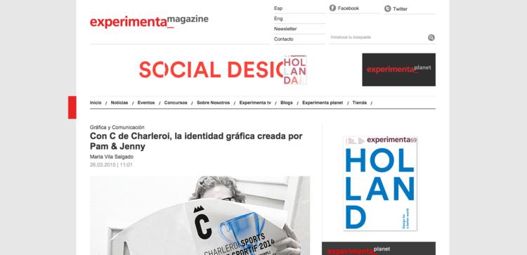 Expermimenta Magazine  (Espagne)