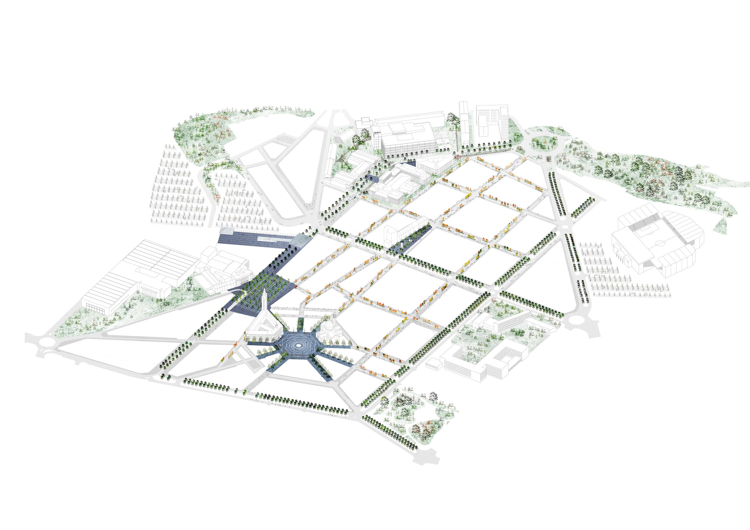 CHARLEROI DC - Projet des espaces publics   Une équipe internationale pour concevoir les espaces publics de la Ville-Haute   La ville de Charleroi connaît une histoire très particulière. Depuis sa création elle s'est développée au travers de grands projets. Elle a été conçue en 1666 comme une forteresse et a connu une suite d'agrandissements de ses lignes de défense. Après la découverte des gisements dans la région, elle est devenue le centre de l'extraction du charbon. En 1911...  + d'informations