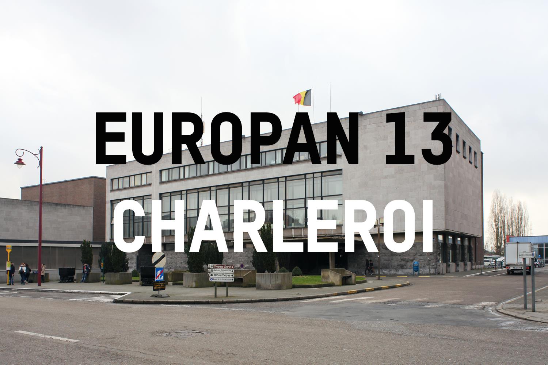 EUROPAN 13: les projets lauréats pour Charleroi   En tant que Concours d'idées lancé à l'échelle européenne, Europan s'adresse aux architectes de moins de 40 ans et leur propose de repenser un site de leur choix sur des sites choisis dans 15 pays du continent.  + d'informations