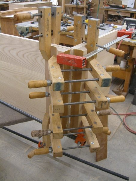 Clamping a Chest of Drawers
