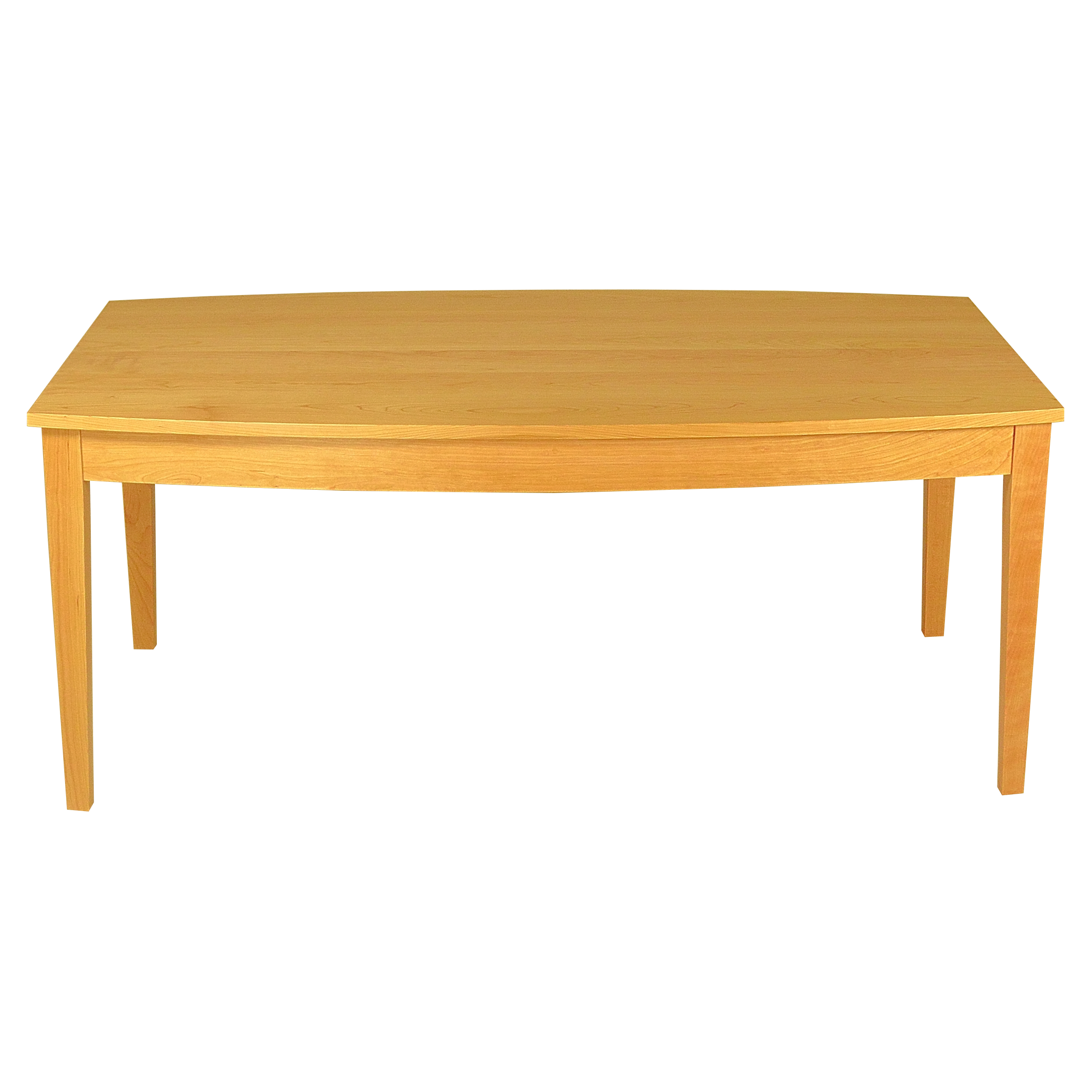 Curved Top Dining Table