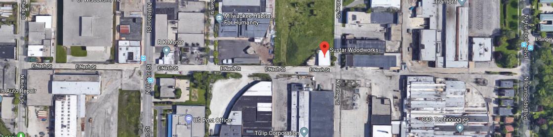 Sustar Woodworks google maps