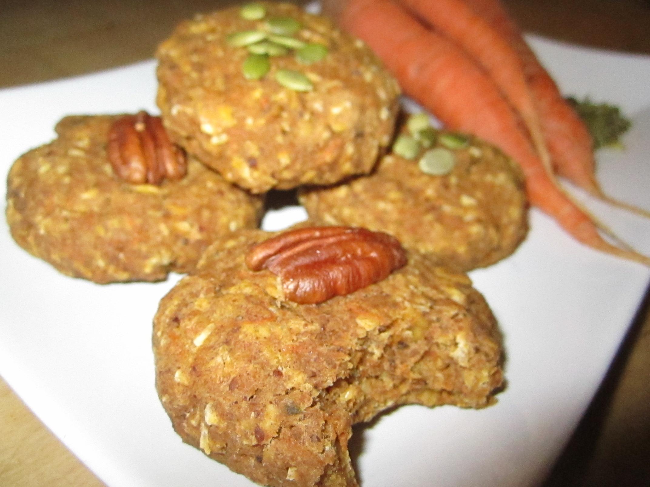 Soft Carrot Pumpkin Cookies
