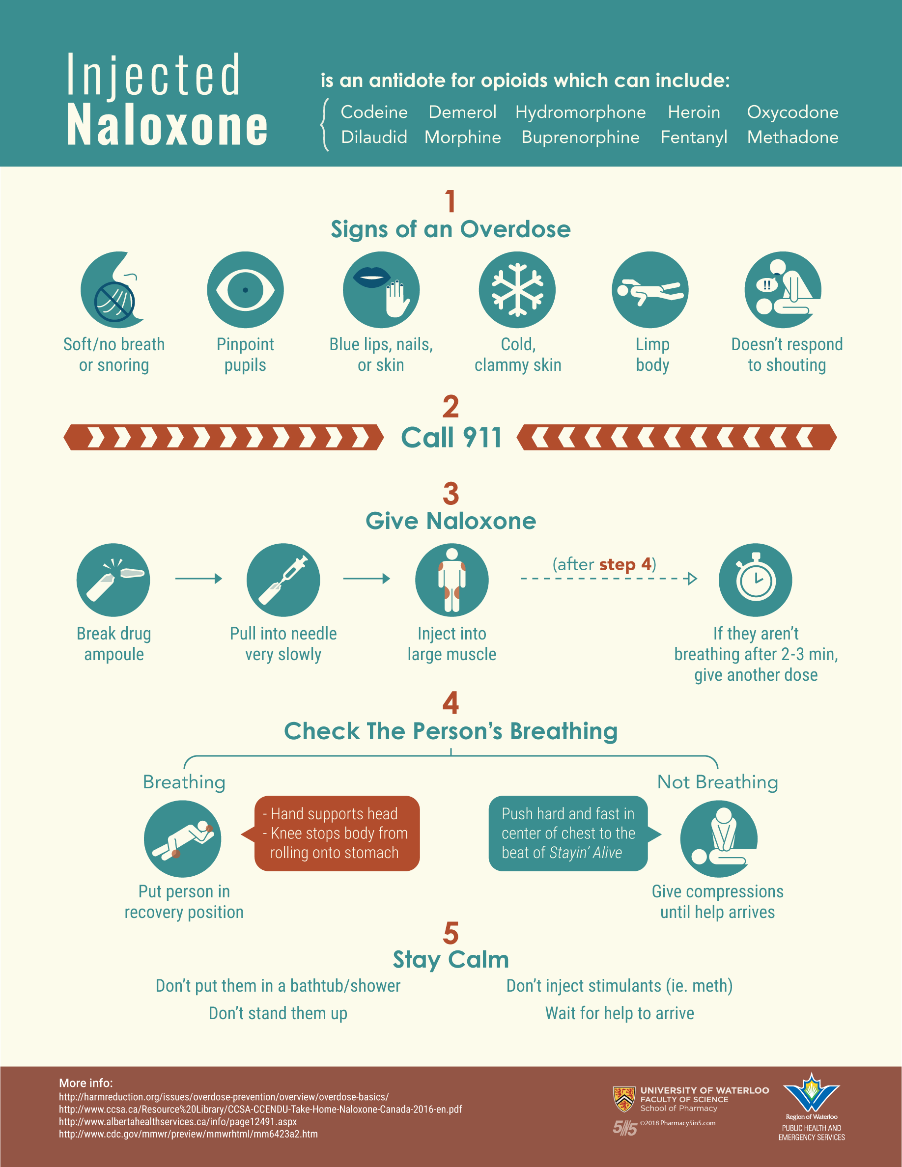 Download a PDF of the COLOUR Naloxone Inj Infographic    Download a PDF of the BLACK & WHITE Naloxone Inj Infographic
