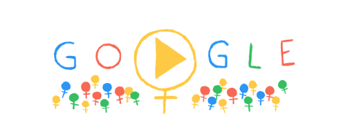 Google Doodle National Women's Day