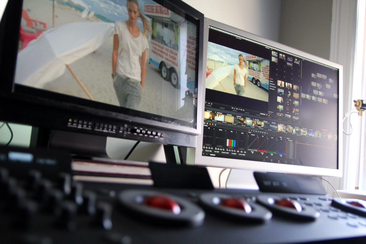 Calibrated Flanders Scientific Broadcast Monitor