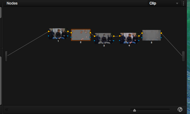 5-node color correction