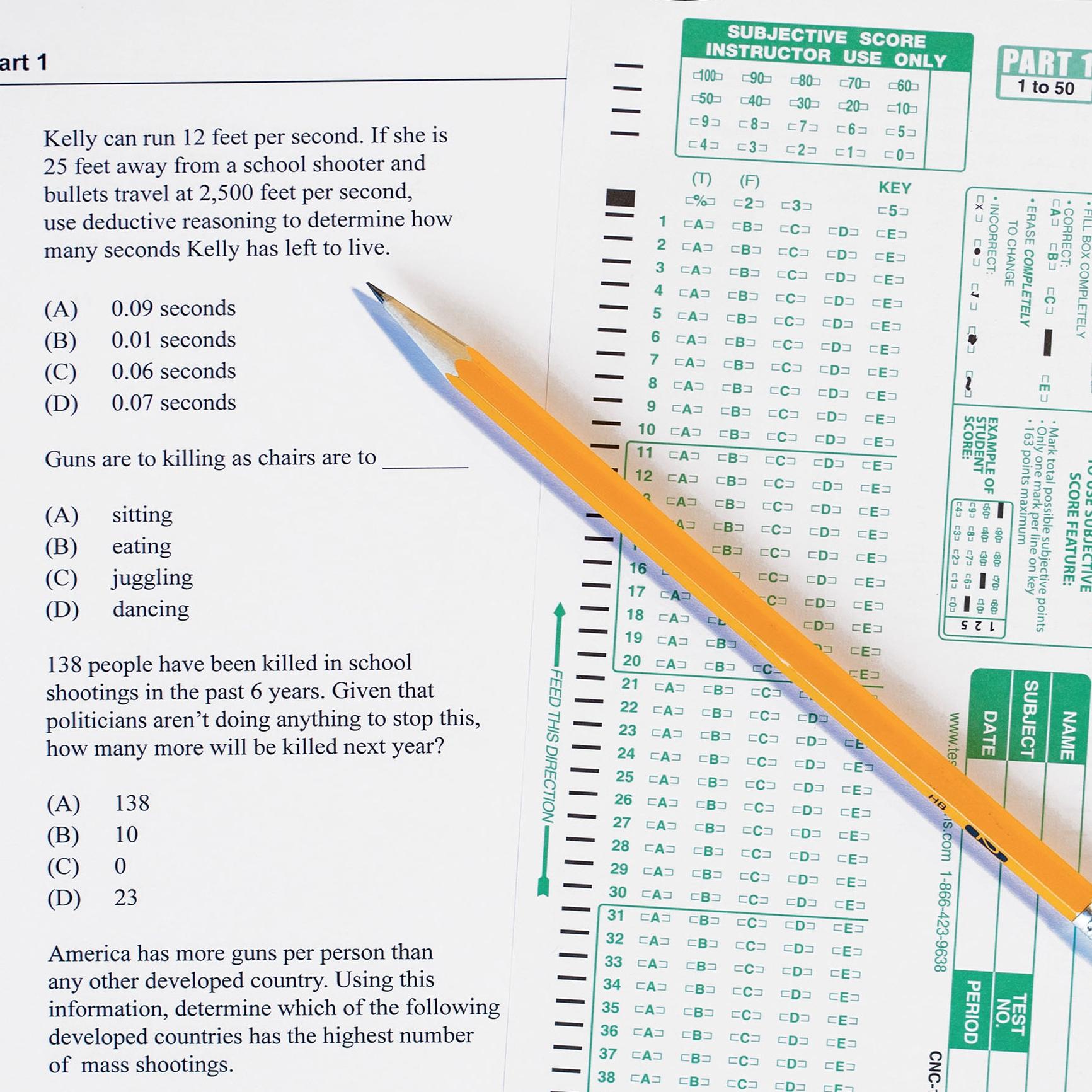 De-Standardized Tests
