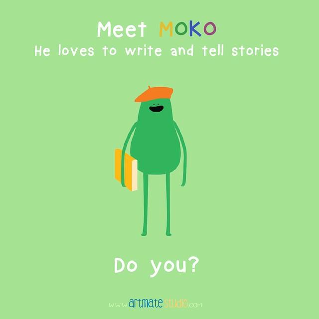 Hello, Moko! ✏️