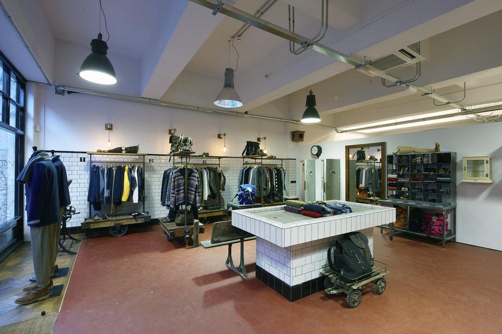 YMC industrial shop fitting