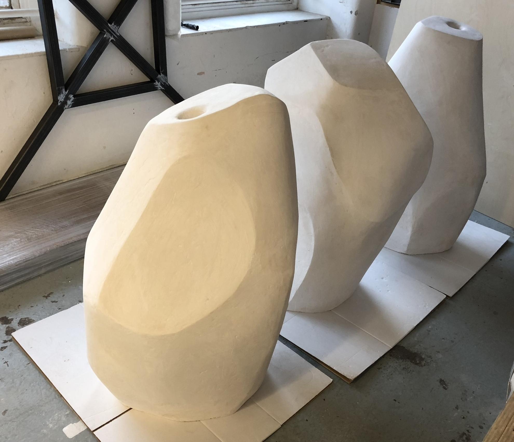 Sculpture Organic Shapes