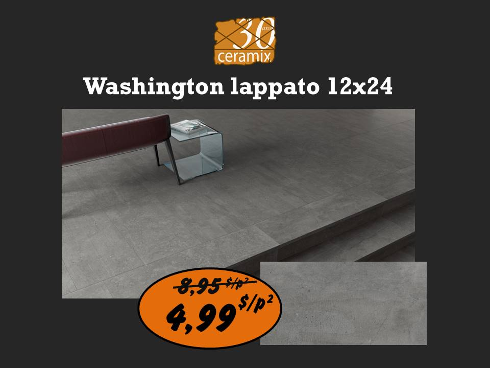 Washington lappato 12x24 ou 24x24