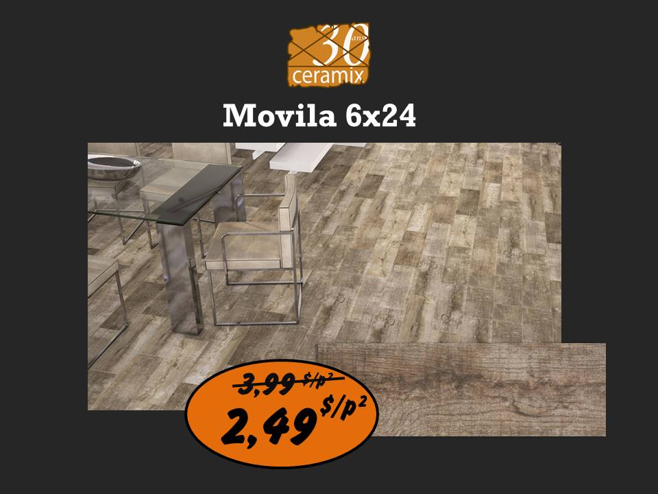 Movila 6x24 - 2,49$/p²