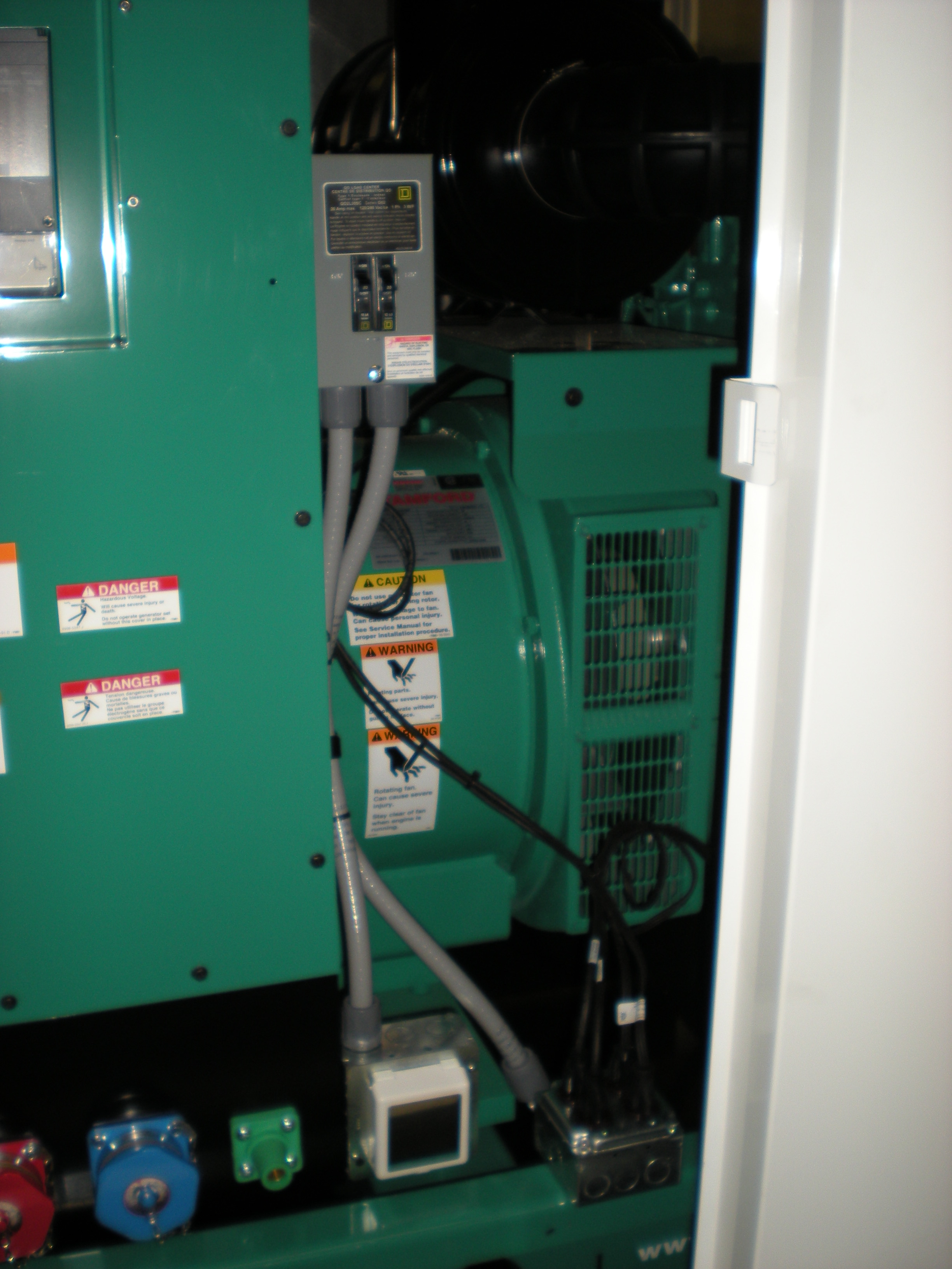 Load center, shore power & duplex receptacles.JPG