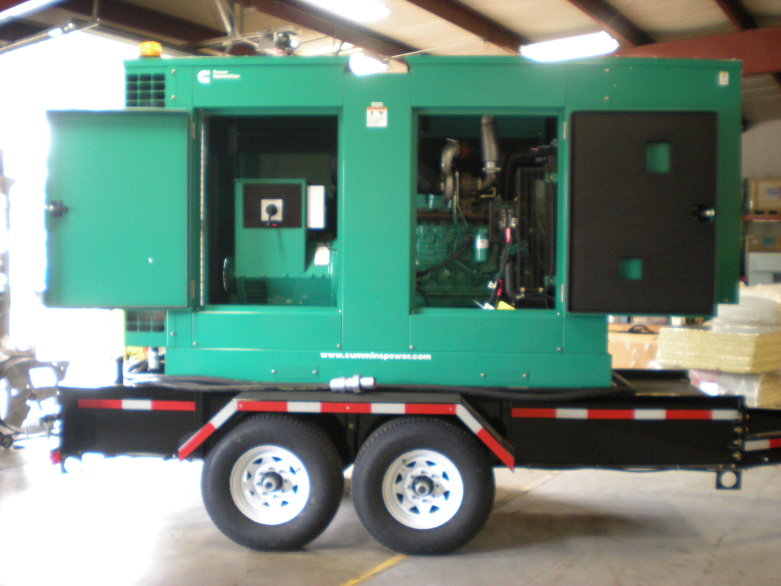 Ironclad Cummins generator package trailer.JPG