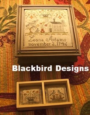 Blackbirds Leonas Sewing Box