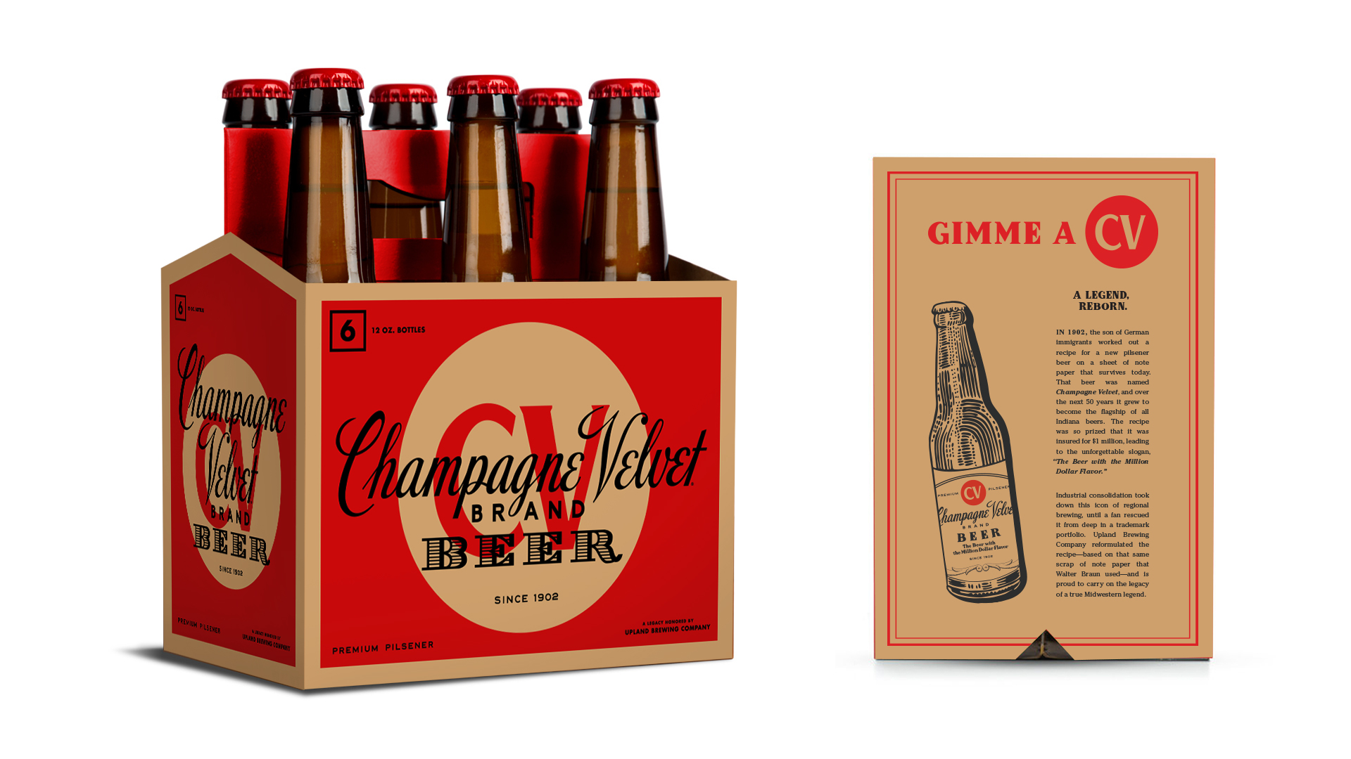 6pk bottle packaging