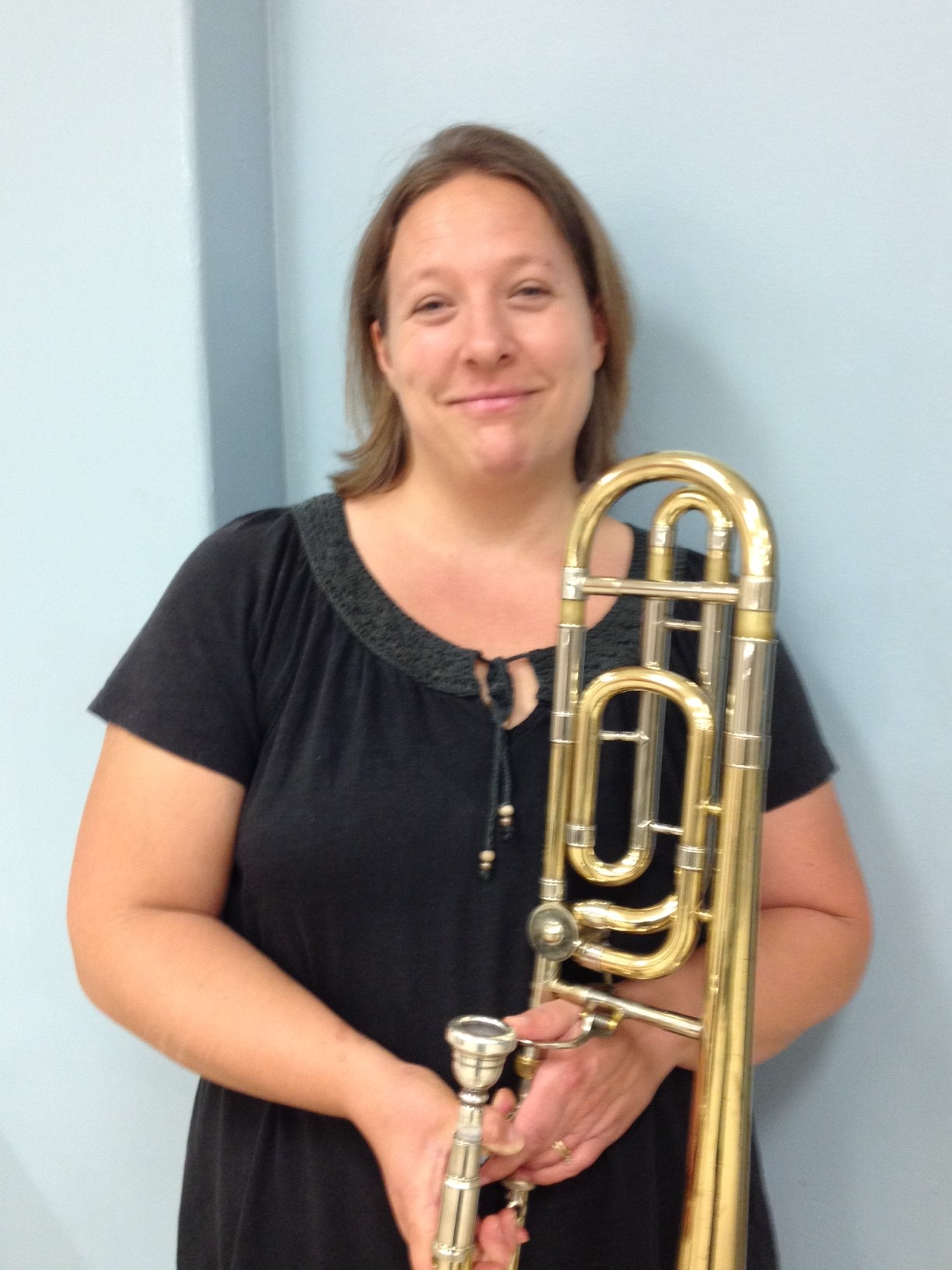 Christine Hayes, Trombone
