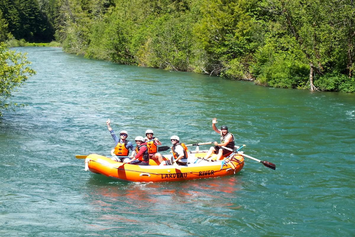 We're Off!-www.LardeauRiverAdventures.com