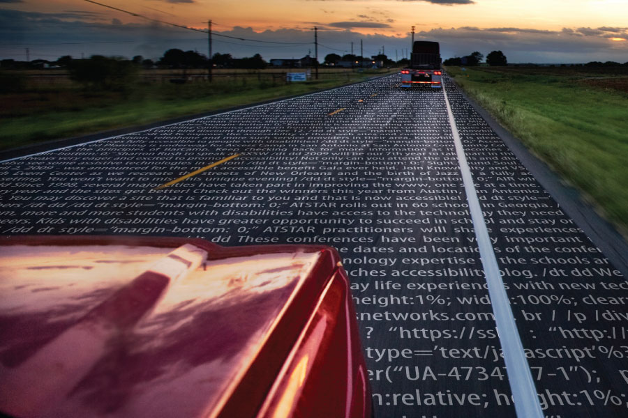 Code Covered Surfaces Reveal the Power of Accessibility - Print • Nonprofit