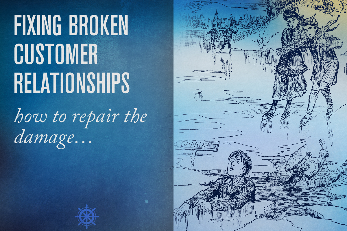You've blown it — now what? learn to fix broken relationships - Captain's Log • 13 minute read