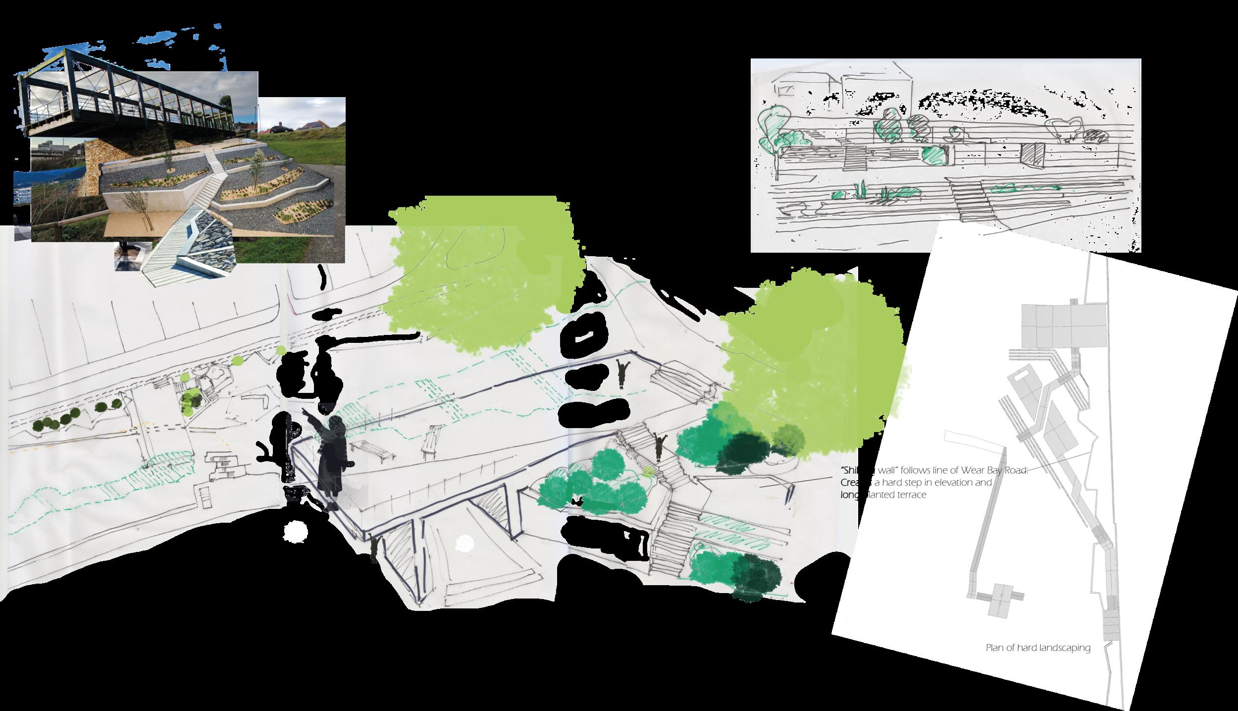 Study Site:Folkstone - Coastal Park Design Project -