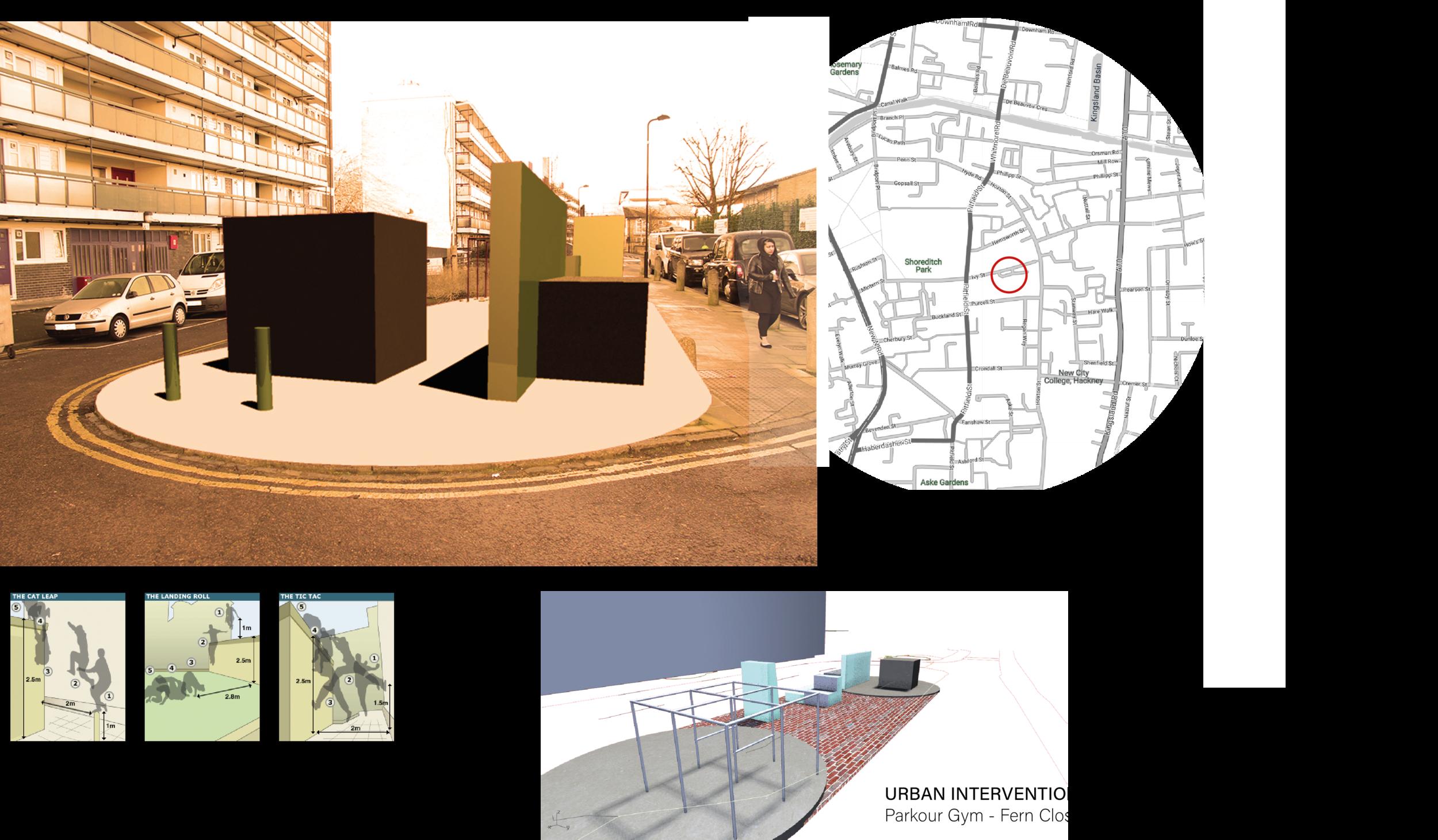 Urban Study: Hoxton -