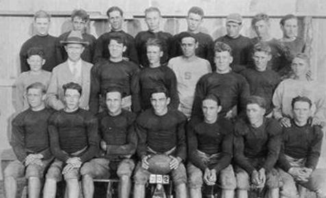 Strawn's Football Team- 1920's